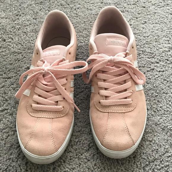 adidas Shoes | Pink Adidas Courtset